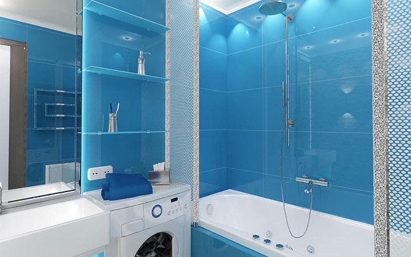 Дизайн ванной комнаты 4 метра