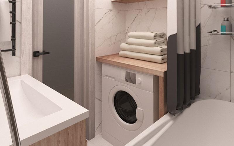 Дизайн ванной комнаты 5 метров