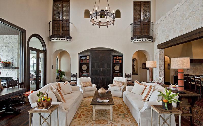 Испанский дизайн интерьера