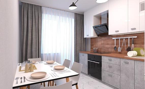 Дизайн квартиры Пилотская