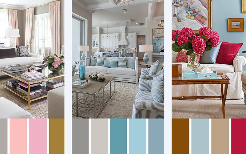 Как правильно подобрать цвета в интерьере