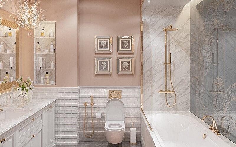Ванные комнаты в квартире дизайн фото